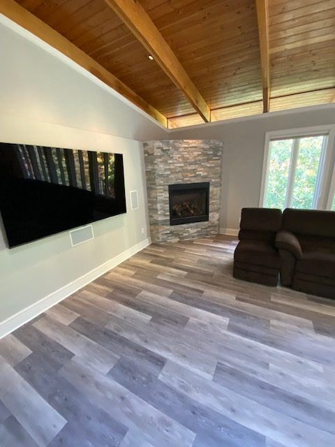 Fireplace design By Cyrus construction Mclean VA | General Home Remodeling