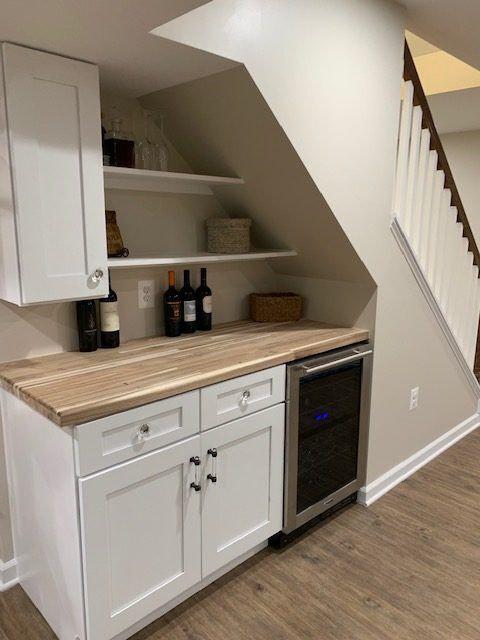 Basement Remodeling Clifton VA | Under stair Idea Design