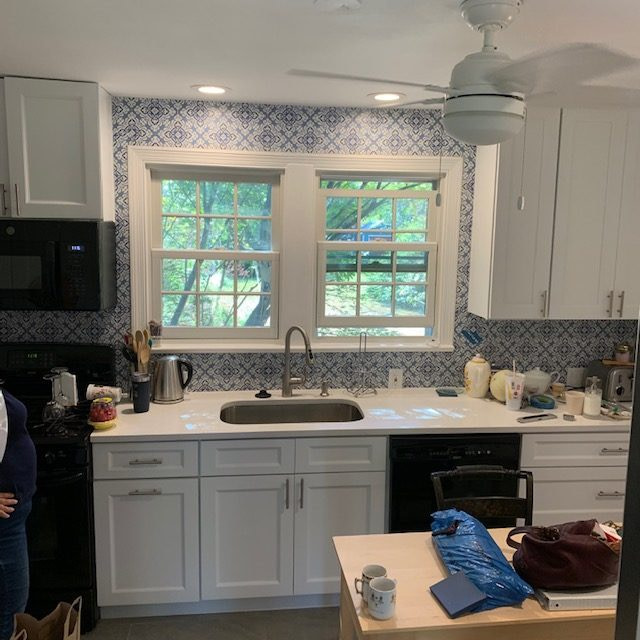 Small Kitchen renovation Arlington VA