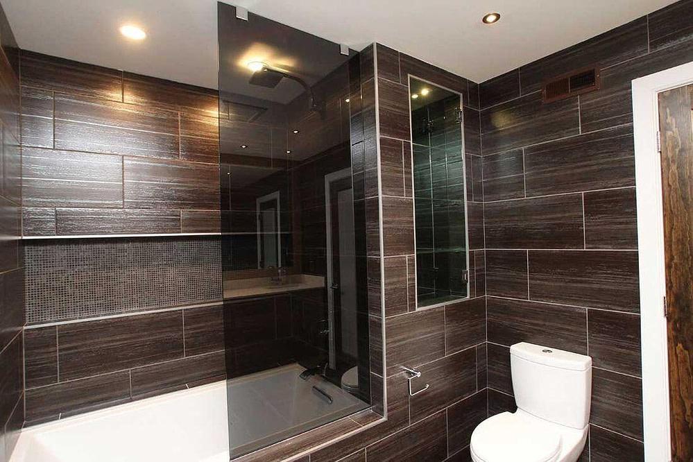 Bathroom design tiles Cyrus Construction