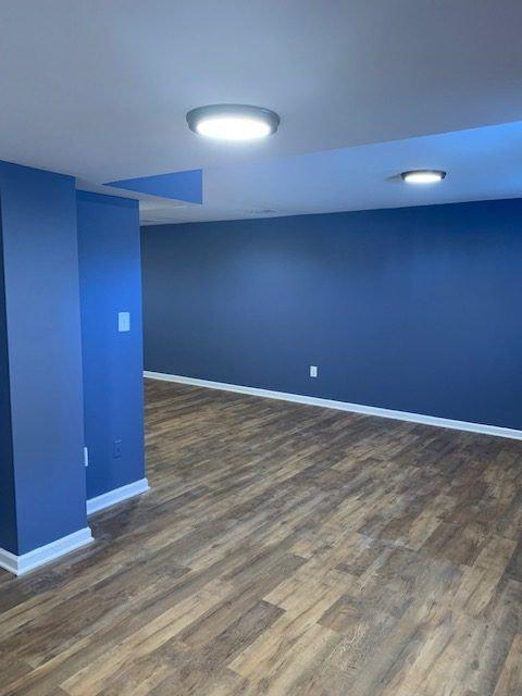 Basement renovation Chantilly VA