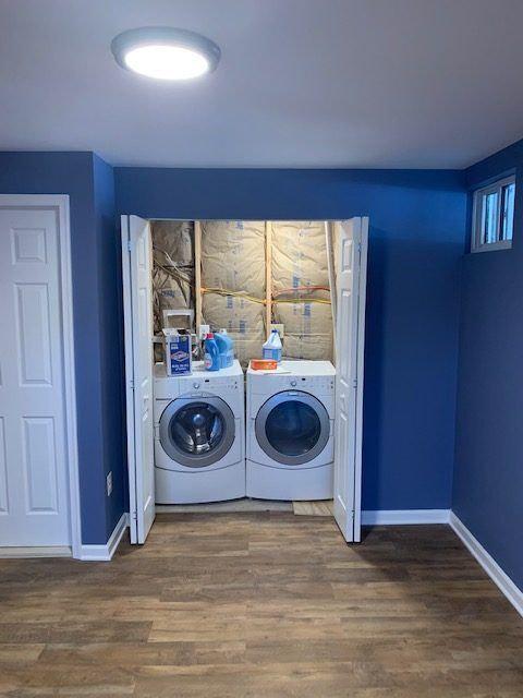 Laundry room   Complete basement finishing